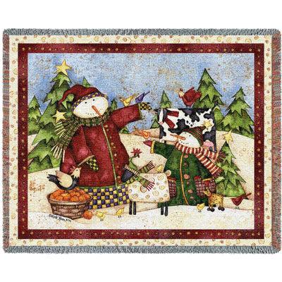 Magic Snowmen Blanket