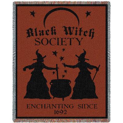Black Witch Society Blanket