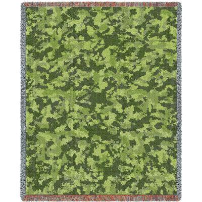 Camo Woods Blanket