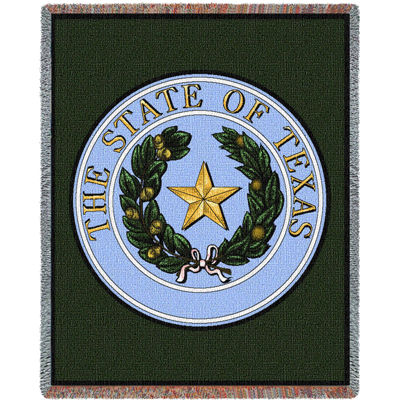 Texas State Seal Blanket