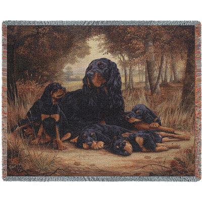 Gordon Setter Blanket