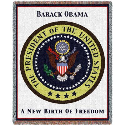 Obama Presidential Seal Blanket
