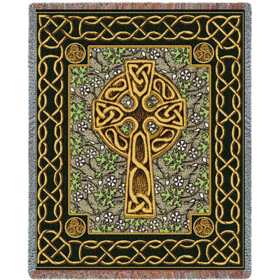 Celtic Cross Blanket