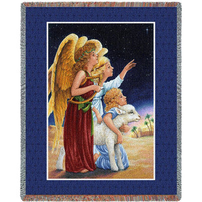 Angels At Night Blanket