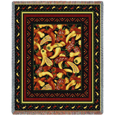 Chili Peppers Blanket