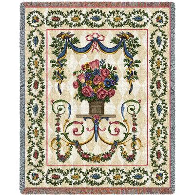 Floral Majesty Blanket