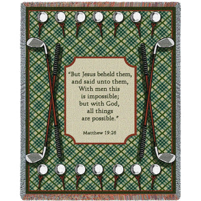 Golf Prayer Blanket