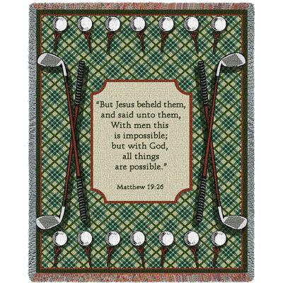 Golf Prayer Blanket