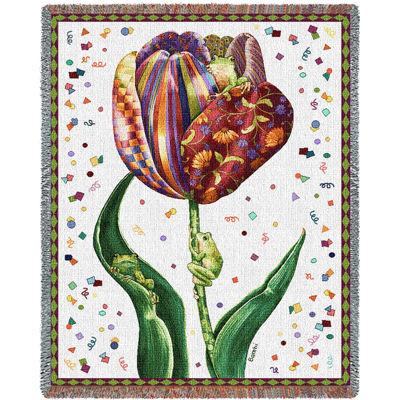 Confetti Tulip Blanket