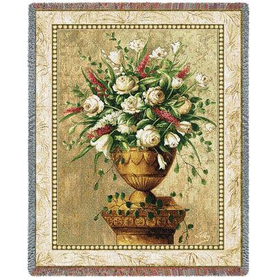 Spring Expression Tapestry Blanket