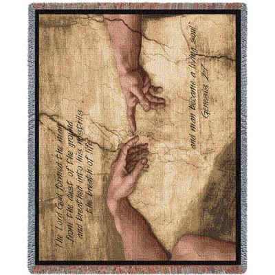Genesis 2:7 Adam Blanket