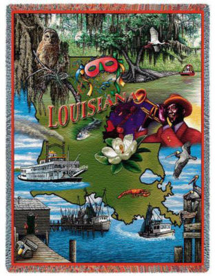 Louisiana 2 Blanket