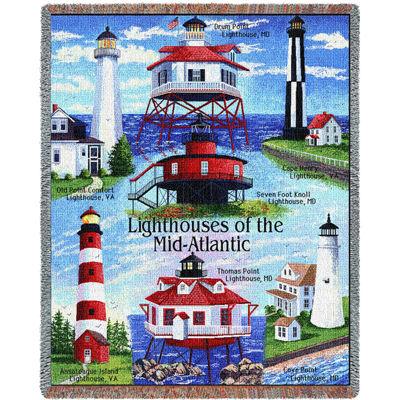 Lighthouses of the Mid-Atlantic Blanket