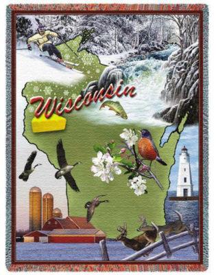 Wisconsin 2 Blanket