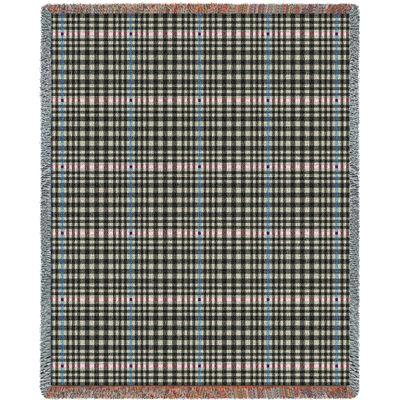 Herringbone Grey Blanket
