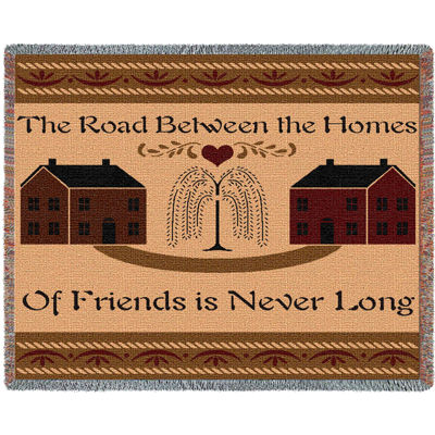 Road Between Friends Blanket