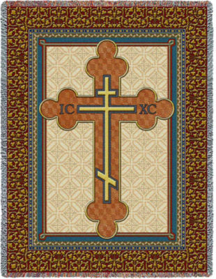 Orthodox Cross Blanket