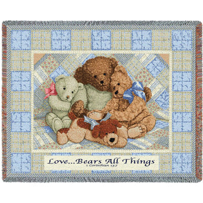 Love Bears Mini Blanket