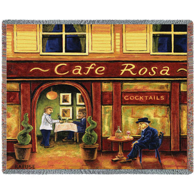 Cafe Rosa Blanket