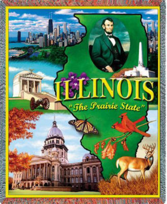Illinois 2 Blanket