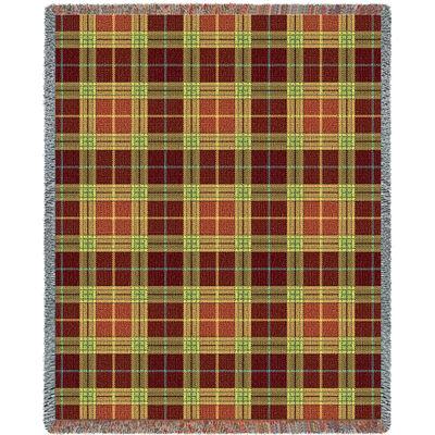 Woods Plaid Blanket