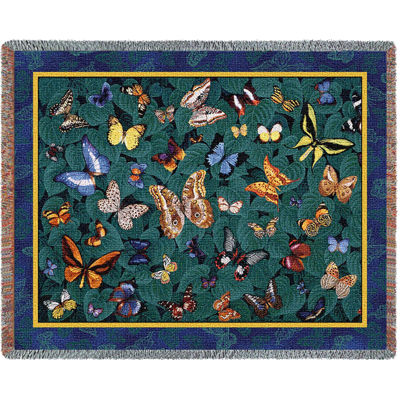 Butterfly Dance Blanket