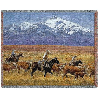 Homeward Bound Tapestry Blanket