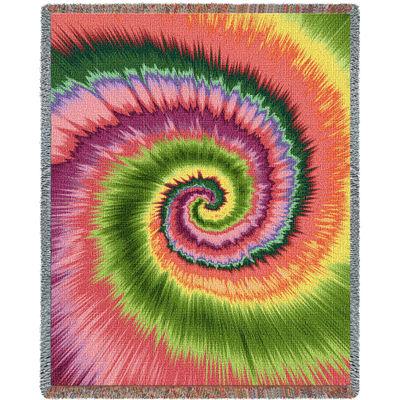 Girls Tye Dye Blanket