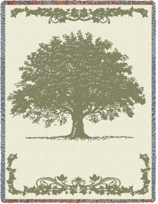 Oak Tree Sand Blanket