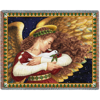 Angel and Dove Blanket