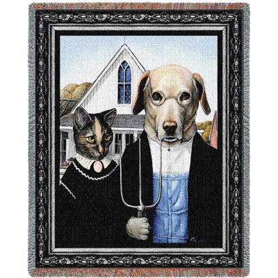 Animal Gothic Blanket