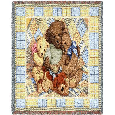 Bear Hugs Mini Blanket