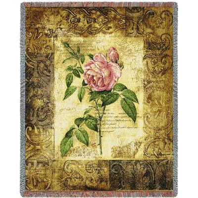 Blossom Elegance I Tapestry Blanket