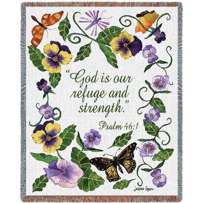 Butterflies Psalm Blanket