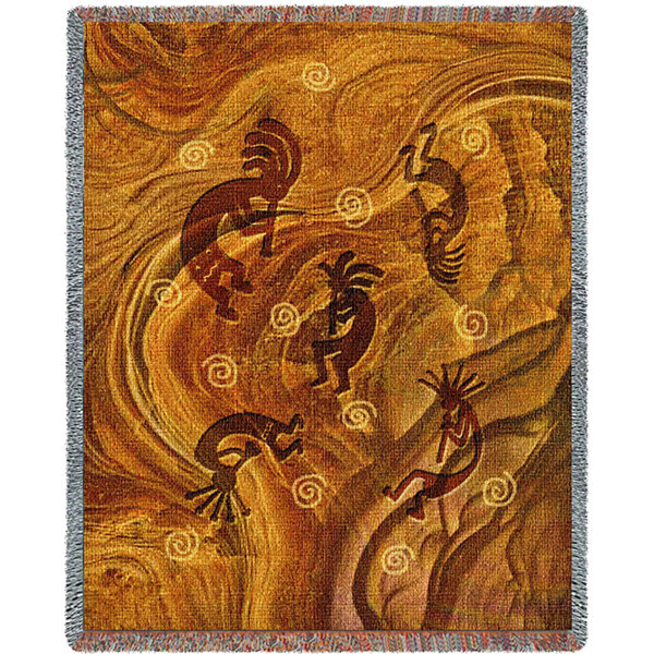 Kokopelli the Ancient Ones Blanket