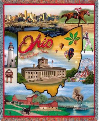 Ohio 2 Blanket