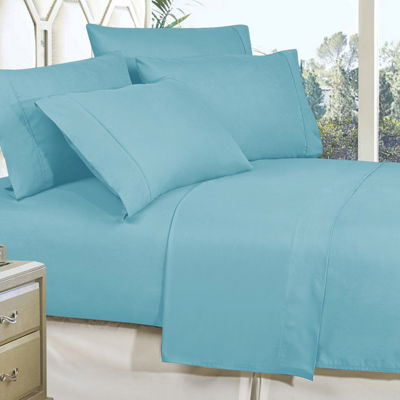 Elegant Comfort Wrinkle Free Silky Soft Bed Sheet Set with 16 inch Deep Pocket