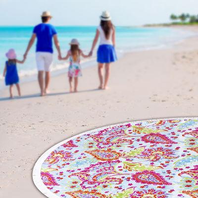 Hanalei Round Beach Towel