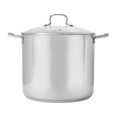 Oneida 8qt Ss Stock Pot Stainless Steel Dishwasher Safe Stockpot