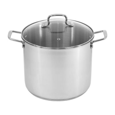 Oneida 12 Qt Stainless Steel Dishwasher Safe Stockpot