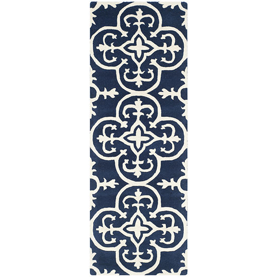 Safavieh Ewart Geometric Hand Tufted Wool Rug