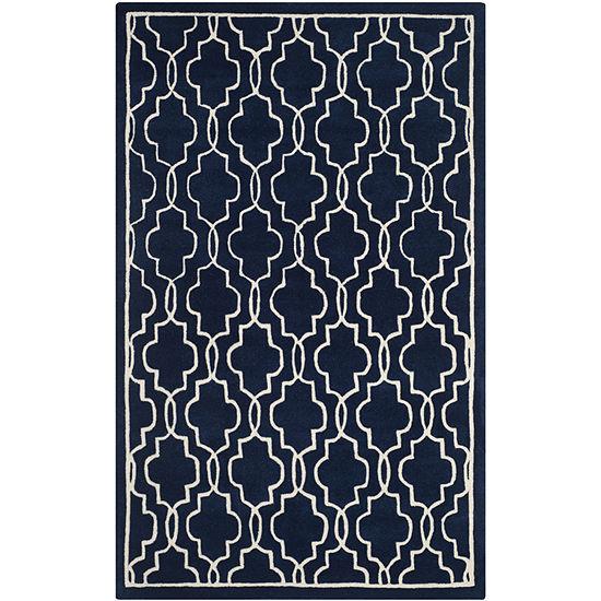 Safavieh Emmit Geometric Hand Tufted Wool Rug