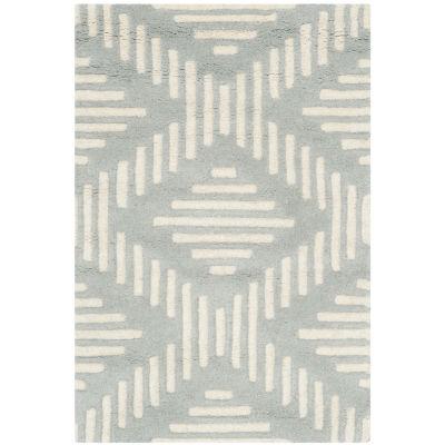 Safavieh Kaeden Geometric Hand Tufted Wool Rug