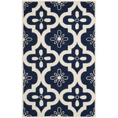 Safavieh Eadaoin Geometric Hand Tufted Wool Rug