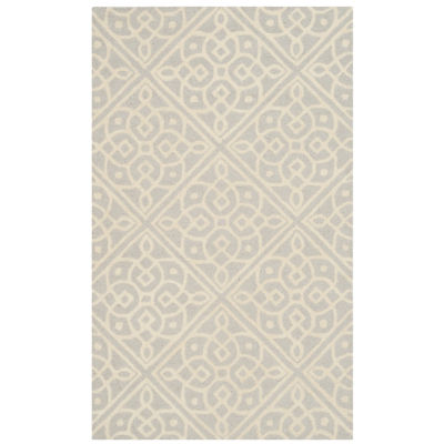 Safavieh Devona Geometric Hand Tufted Wool Rug