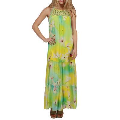 24/7 Comfort Apparel Courtney Maxi Dress