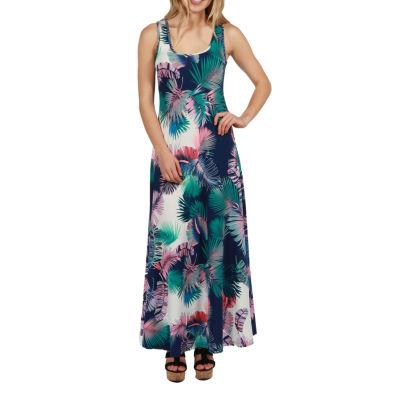 24/7 Comfort Apparel Alix Maxi Dress