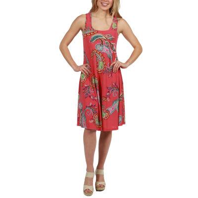 24/7 Comfort Apparel Odette Dress