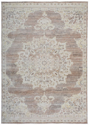 Traditional Medallion Vintage Area Rug