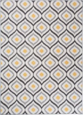 Modern Moroccan Design Non-Slip Non-Skid Area Rug